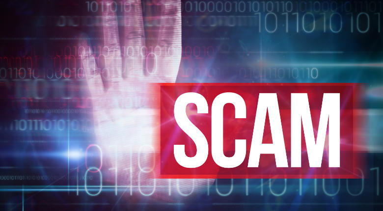 image of scam