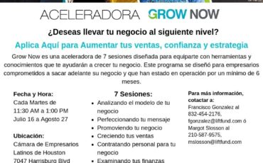 Grow Now Houston Spanish 1