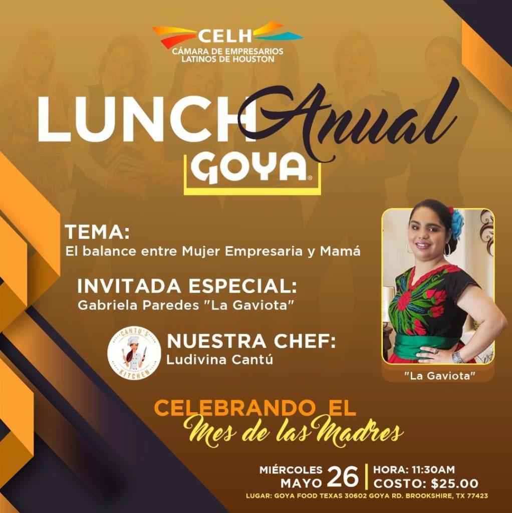 Lunch Anual Goya a