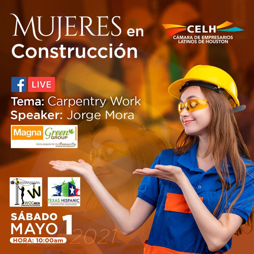 Mujeres en construccion carpinteria