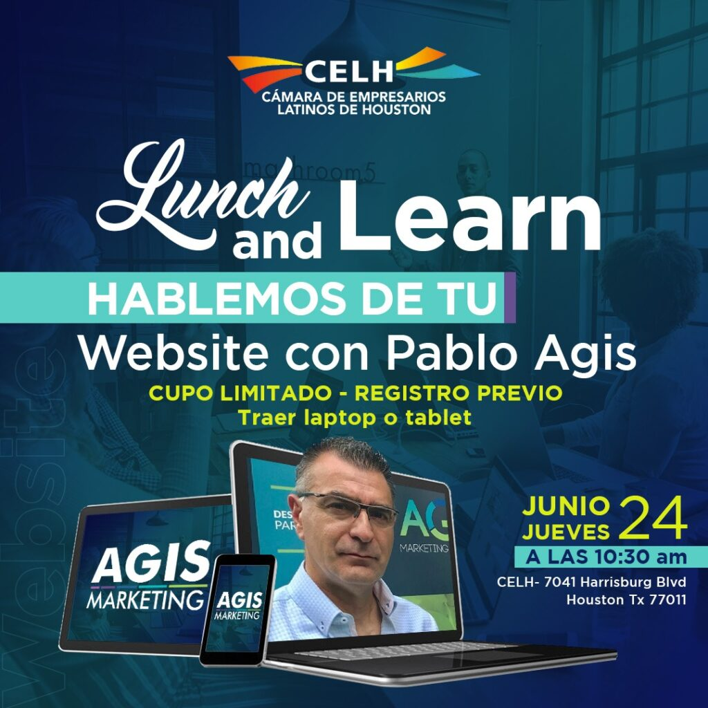 Lunch and Learn with Pablo Agis